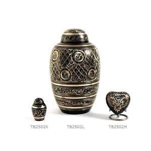 combinatie urn brons 0201